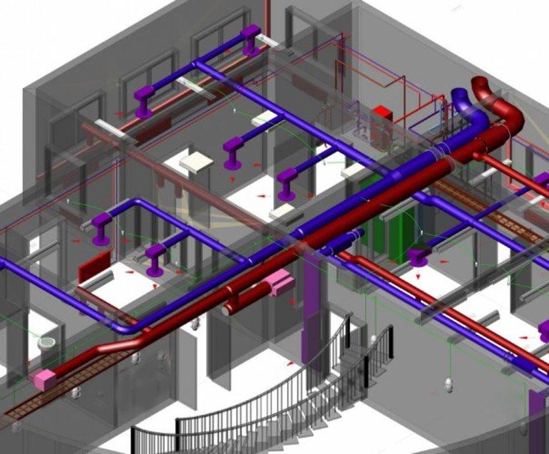 Структура вентиляционного комплекса