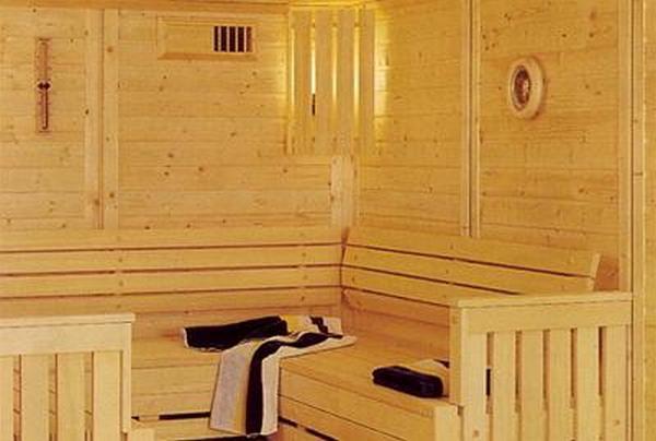 Пример вентиляции в бане