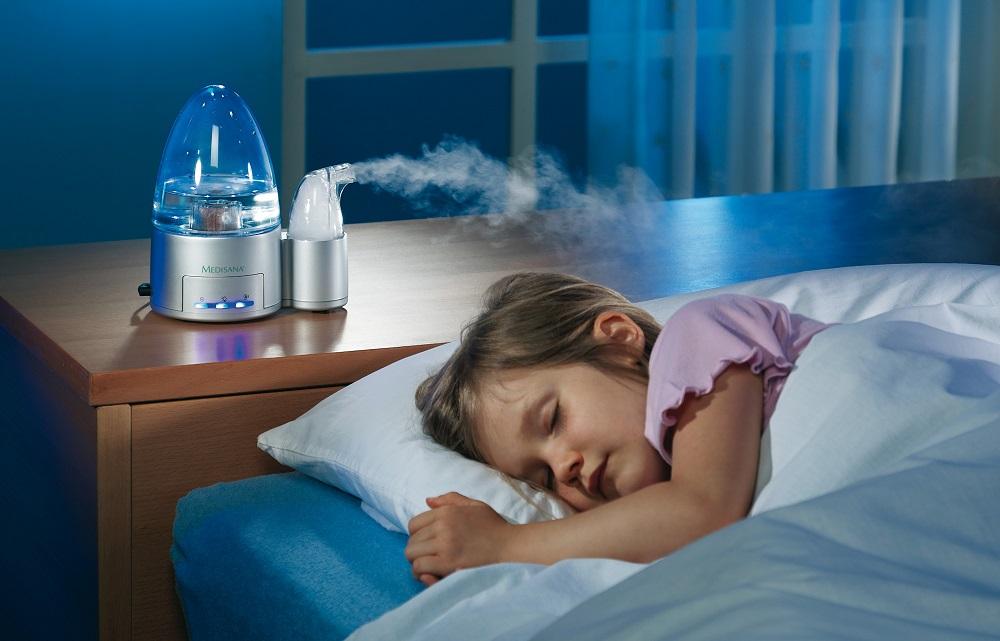 Польза увлажнителей воздуха для детей