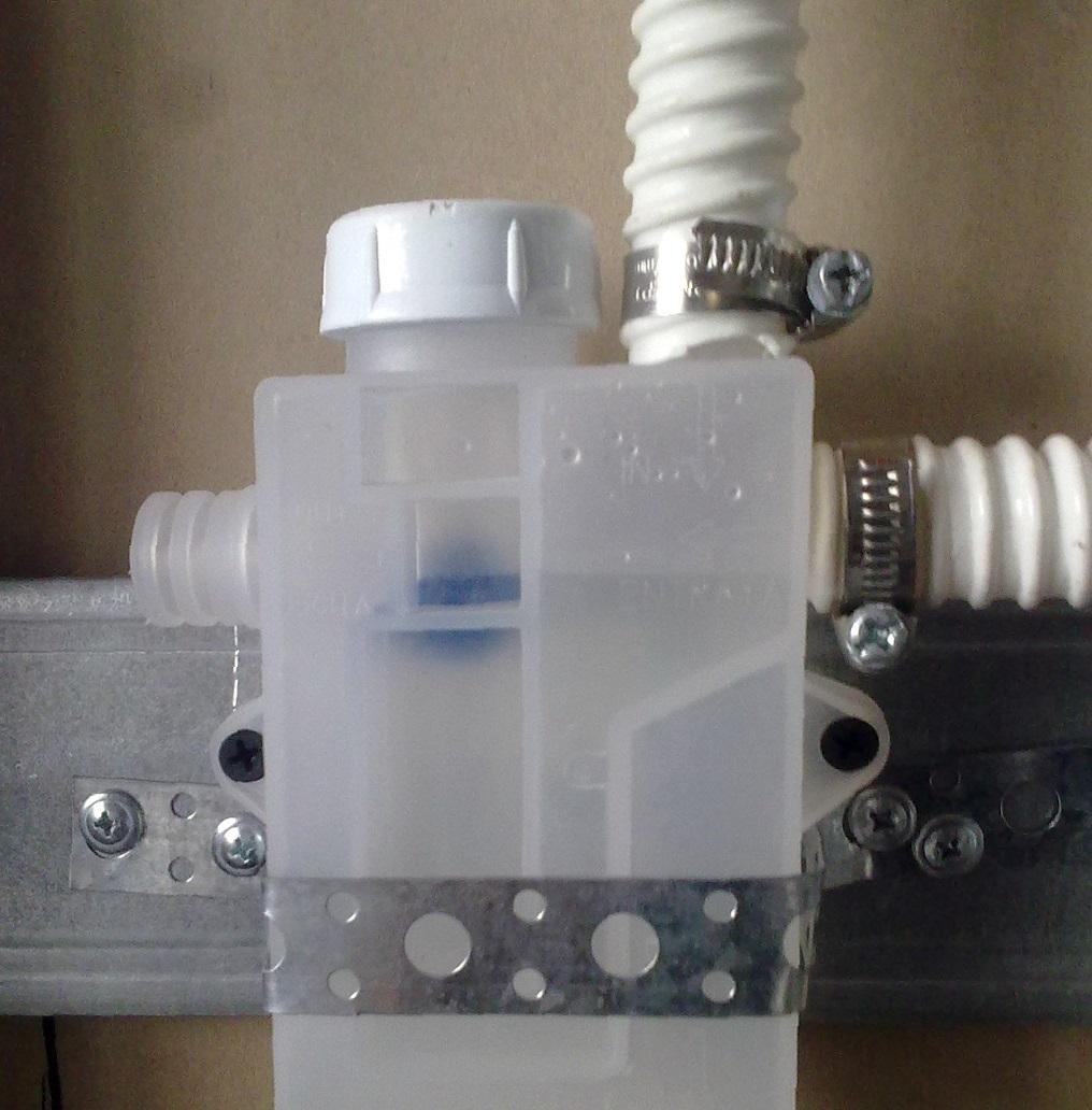 Отвод конденсата от кондиционера с использованием сифона