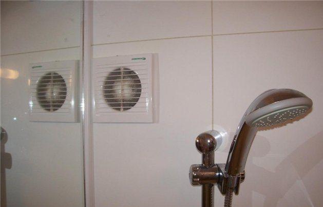 Вытяжная вентиляция в ванной