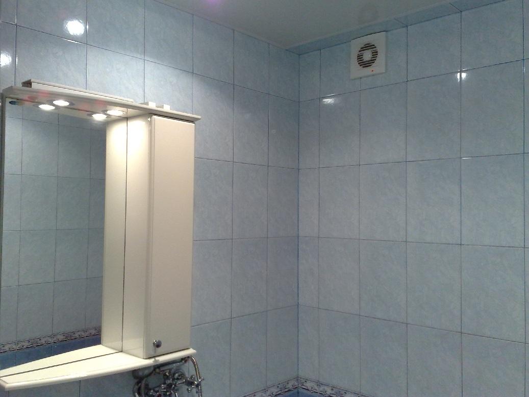 Принудительный тип вентиляции в ванной