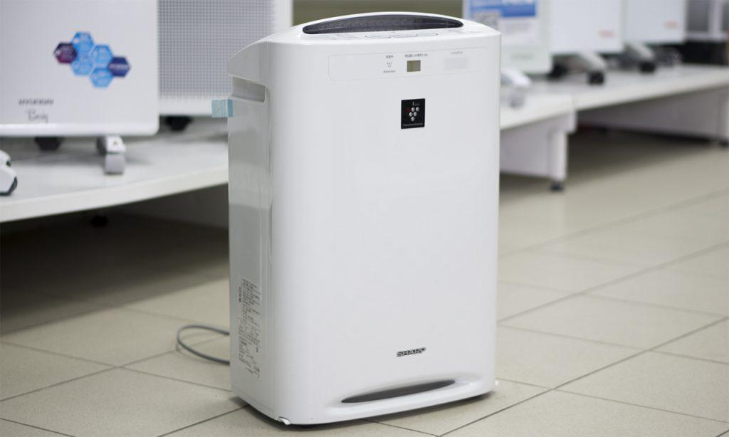 Модель фотокаталитического очистителя воздуха