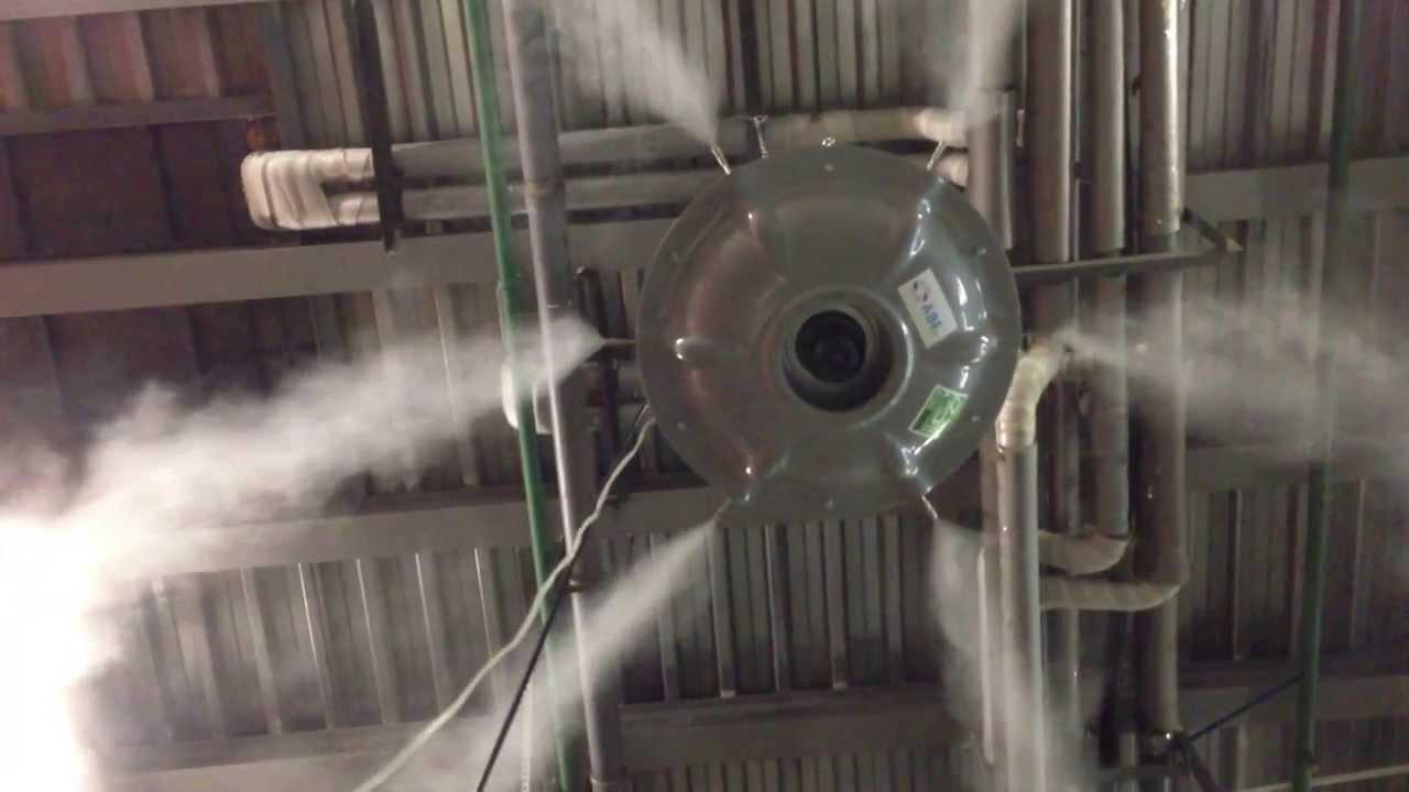 Статьи: Промышленное увлажнение воздуха