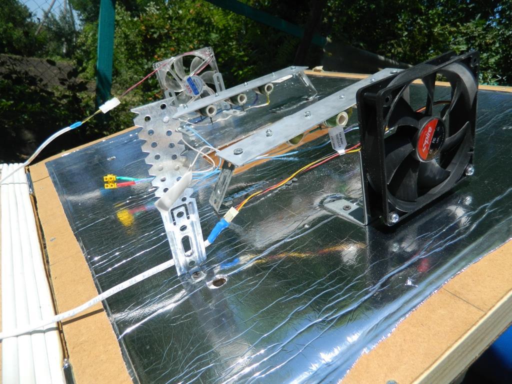 Вентиляторы в самодельном инкубаторе