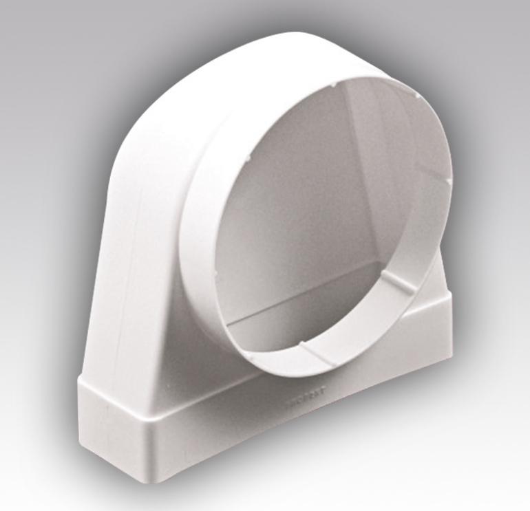 Круглый или прямоугольный воздуховод для вытяжки