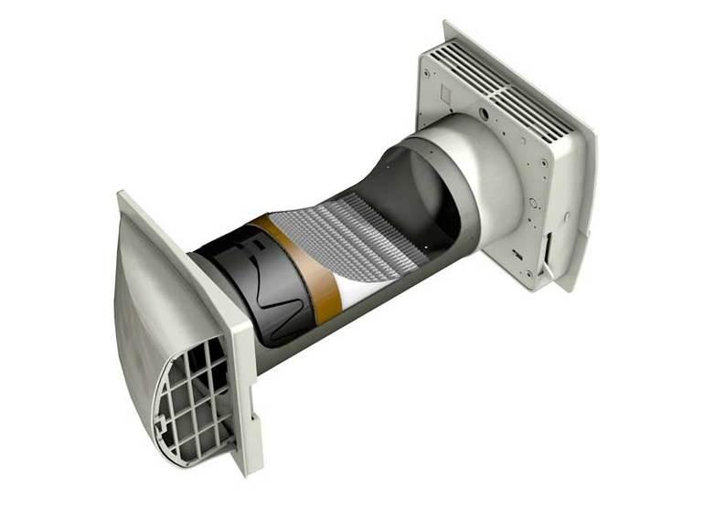 Вентиляция с рекуперацией в квартире. Без воздуховодов и СМС