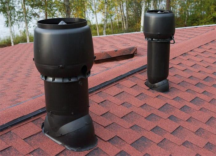 выход для вентиляции крыши